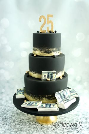 3 Tier Money Cake
