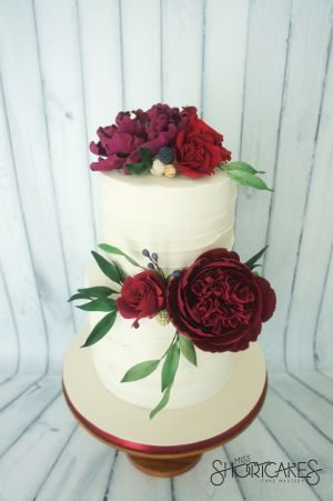 Rustic Ivory and Charm Peonies