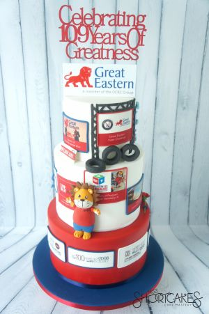 109th Anniversary Cake for Great Eastern Life