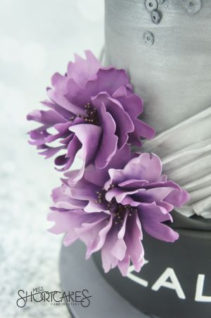 Zalora Purple Flower