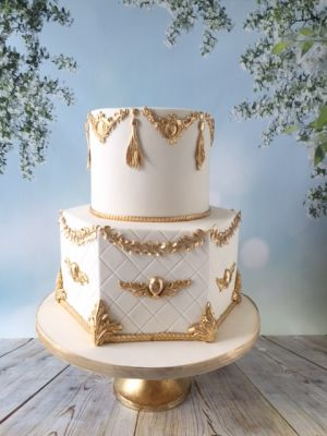 Royal Ivory and Gold Opulence